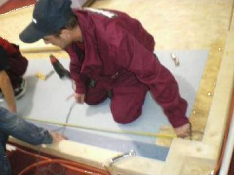 Montaj covor PVC