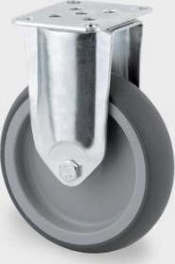Roata fixa din polipropilena 125x32mm, 2478PIO125P50 de la Orinev Industrial Solutions Srl.