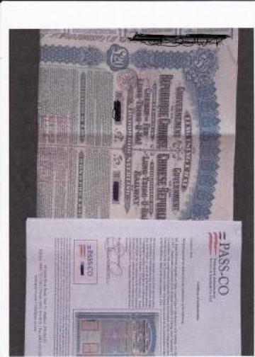 Bonduri istorice China 1913 Super Petchili de la Criseric Construct Invest
