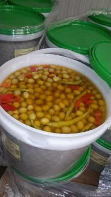 Masline verzi in sos picant Cantoliva