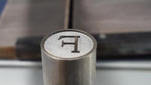 Gravura / marcare laser pe metal, plastic, sticla, piele de la Sigilprod Srl