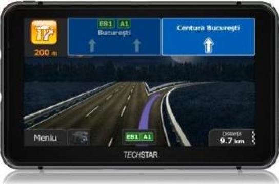 """Sistem GPS auto Techstar 7"""" Premium + 8GB 256RAM Full Europa de la Gerika Media Distribution"""