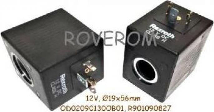 Bobina 12V, D19x56mm, electrovalva hidraulica de la Roverom Srl