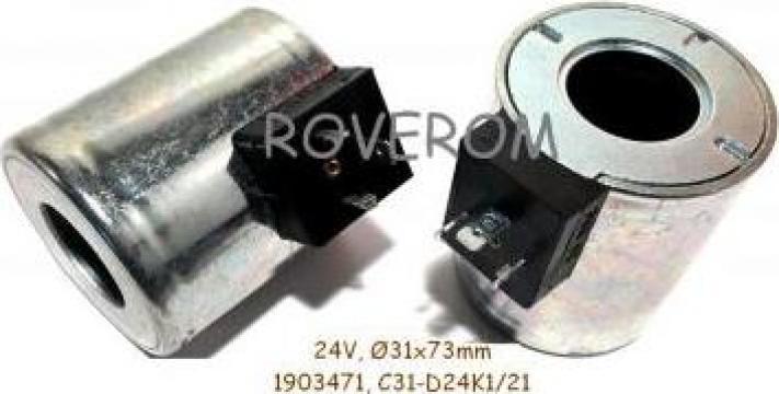 Bobina 24V, D31x72mm de la Roverom Srl