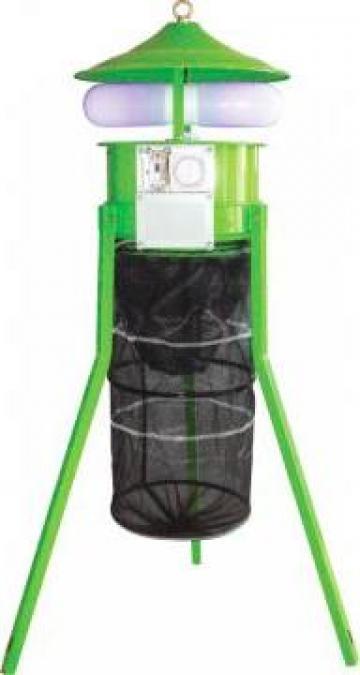 Capcana electrica pentru insecte 60W, 1650 mp de la Agro Kit Solarii Srl