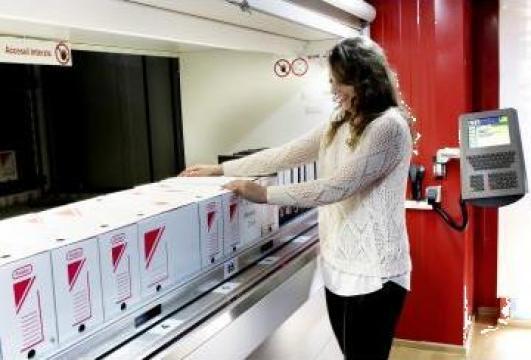 Sistem automatizat de arhivare Arhisafe de la Elmas