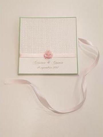 Invitatii nunta, botez handmade de la Christine Style Events