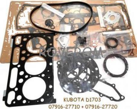 Garnituri motor Kubota D1703, Bobcat 328, 325C, Kubota KX155