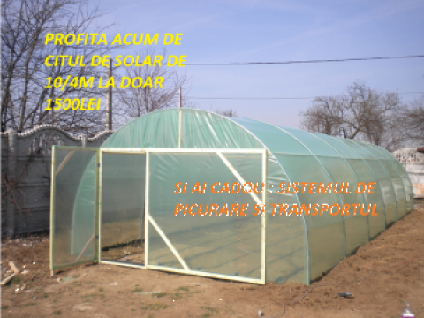 Solarii pentru legume de la Solarii Oltenia