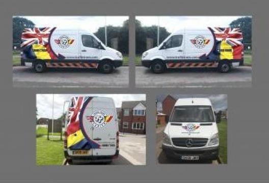 Transport colete Romania-Leicester de la Trufin Trans Ltd