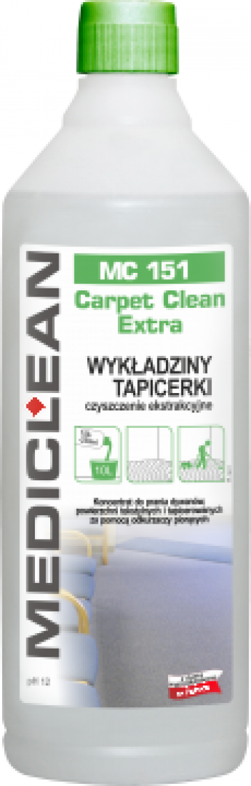 Detergent pentru covor sau mocheta MC 150 de la Cleaning Group Europe