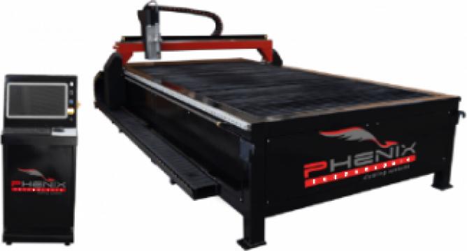 Masa CNC de debitare cu plasma Alpha Cut 1530 de la Bendis Welding Equipment Srl