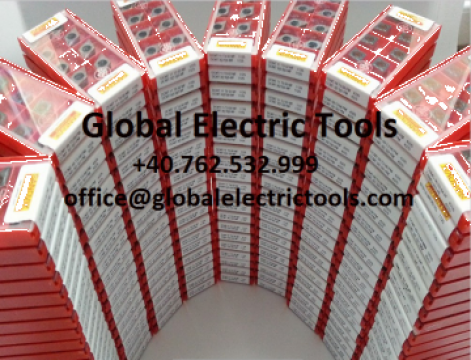 Placute amovibile/vidia Sandvik SCMT 09 T3 04-KM de la Global Electric Tools SRL