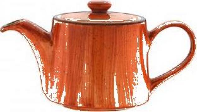 Ceainic din portelan Bonna colectia Terra Cotta 400cc de la Basarom Com