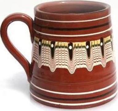 Halba adanca ceramica, lut 500ml de la Basarom Com