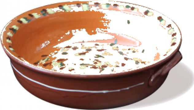 Tava ceramica, lut 3litri de la Basarom Com