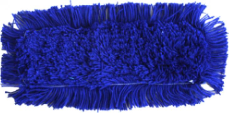 Mop acrilic Raki pentru lustruire albastra 40cm