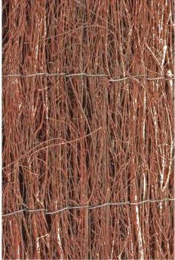 Protectie anti-vant din Ericacee Nature 1 x 5 m 6050100 de la Vidaxl