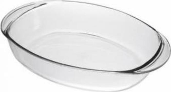 Tava yena oval Duralex 36x25x6,5cm 3,1L de la Basarom Com