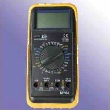Multimetru digital cu afisare LCD - pentru profesor de la Eduvolt