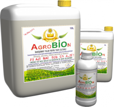 Ingrasamant organic foliar Agrobion de la Sc Agrobion Plus Srl