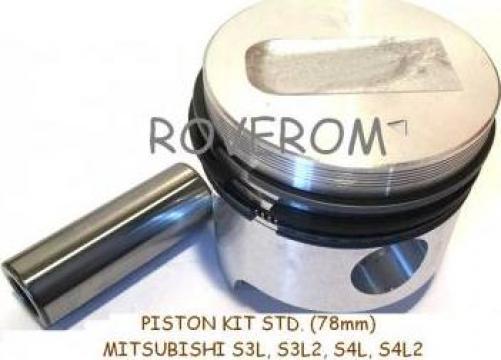 Piston kit STD. Mitsubishi S3L, S3L2, S4L, S4L2 (78mm)