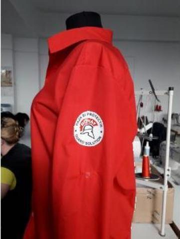 Camasi de paza personalizate prin transfer serigrafic