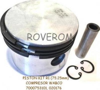 Piston kit R1 (75.25mm) compresor Wabco Daf, Iveco, Mercedes