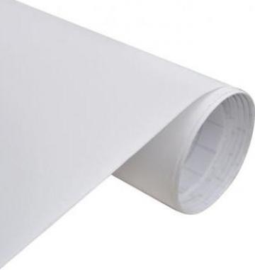 Folie mata impermeabila pentru masina, 200 x 152 cm, alb de la Vidaxl
