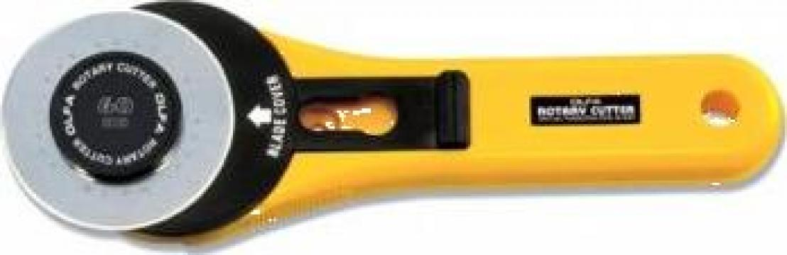 Cutter lama circulara 60 mm Olfa Japonia de la Sercotex International Srl