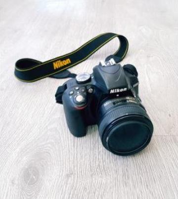 Aparat foto DSLR Nikon D3300, 24.2MP + obiectiv AF-S 50mm de la