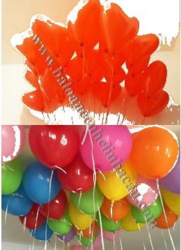 Baloane heliu inima, La multi ani, Arcade, litere, cifre de la Calculator Fix DSC S.r.l.