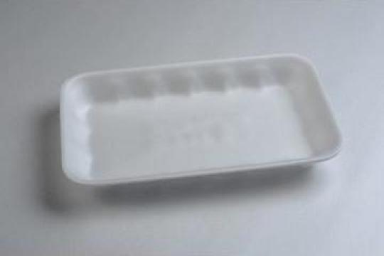 Tavita polistiren PT3-25 STD (225x135x25mm) 500 buc/bax de la Cristian Food Industry Srl.
