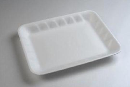 Tavita polistiren MT11 STD (275x220x28mm) 250 buc/bax de la Cristian Food Industry Srl.