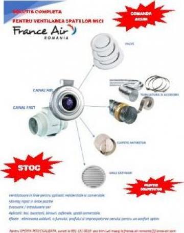 Set ventilatoare in linie de la France Air Romania