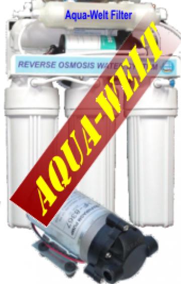 Filtru de apa purificator cu osmoza inversa AW5-P de la Welthaus Srl
