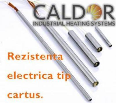 Rezistenta electrica cartus D12.5xL60x315W de la Caldor Industrial Heating Systems Srl