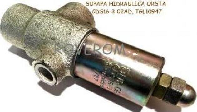 Supapa hidraulica Orsta, CDS16-3-02AD, TGL10947 de la Roverom Srl