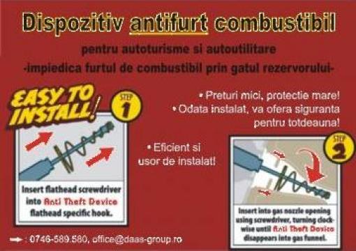 Antifurt motorina Fiat Ducato Doblo Ford de la Daas Group Srl