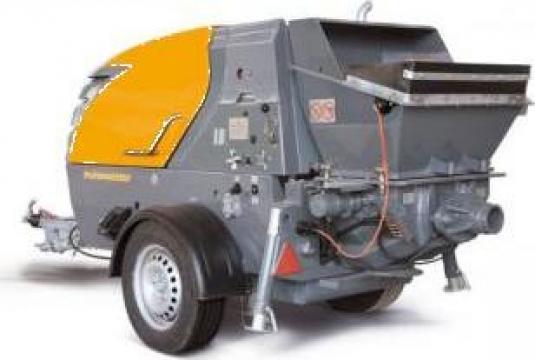 Inchiriere pompa de beton Putzmeister P715 de la Tradakar Serv Srl