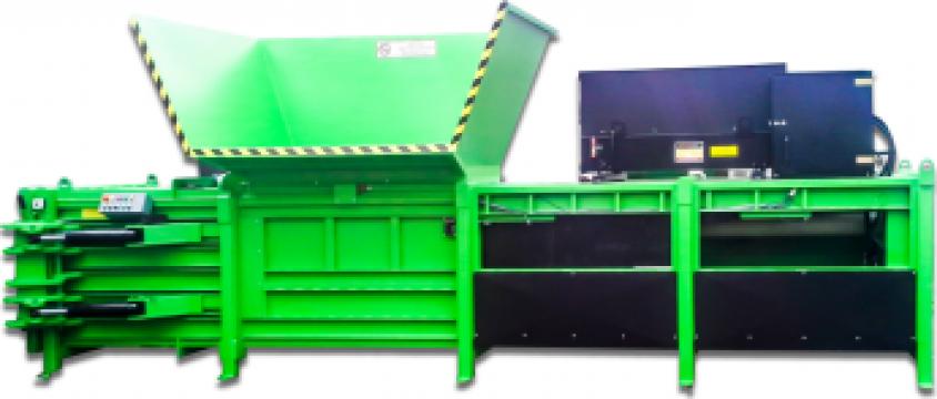 Prese canal orizontale de balotat deseuri de la Filgreen Recycling