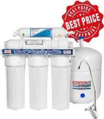 Aparat cu 8 filtre de purificare apa (osmoza inversa) de la Tehnic Clean System
