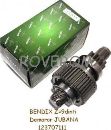Bendix Z=9dinti, demaror Jubana, ARO, U445, GAZ-3302, Lublin de la Roverom Srl