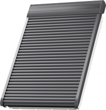 Roleta exterior Velux Parasolar, actionare cu motor solar de la Sc Ellcor Roof Srl-d
