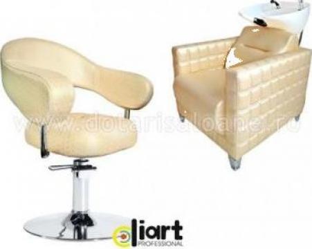 Set mobilier coafor Rose Gold de la Sc Diart MP Srl