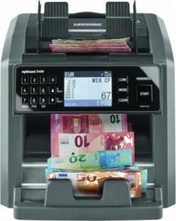 Masina de numarat bancnote Ratiotec Rapidcount X400 de la Scale Expert Srl