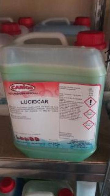 Detergent auto Lucidcar de la Sc Carios Cugir Srl