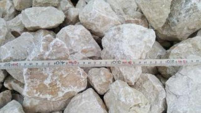 Piatra concasata, piatra calcar, gabioane, roca concasata de la Trans Udroiu Srl