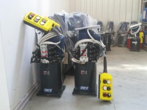 Agregat electric 24 V pentru actionare lame la deszapezire
