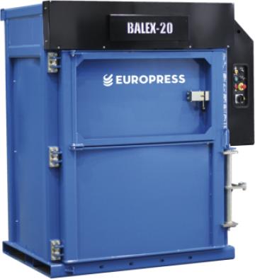 Presa de balotat deseuri Europress Balex 20 de la Filgreen Recycling